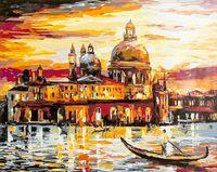 "Картина по номерам ""Золотое небо Венеции"" (400х500 мм; арт. PC4050078)"