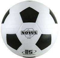 """Мяч футбольный Novus """"Start"""" №5 (бело-чёрный)"""