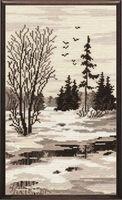 """Вышивка крестом """"Весна. Триптих"""" (180х320 мм; арт. 504В)"""