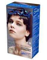 """Гель-краска для волос """"ESTEL ONLY"""" (тон: 4/6, фиолетовый шатен)"""