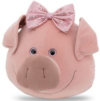 """Подушка """"Свинюшка с бантиком"""" (36 см)"""