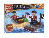 """Конструктор """"Пираты. Плот"""" (57 деталей)"""