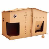 """Домик для животных """"Kotobaza. 2 в 1"""" (74х45х39 см)"""