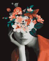 "Картина по номерам ""Мифология женской красоты. Воля"" (400х500 мм)"