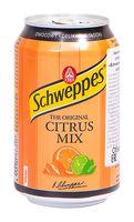 """Напиток газированный """"Schweppes. Citrus Mix"""" (330 мл)"""