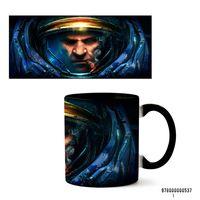 """Кружка """"StarCraft 2"""" (арт. 537, черная)"""