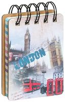 """Блокнот в линейку """"London"""" (А7; в ассортименте)"""