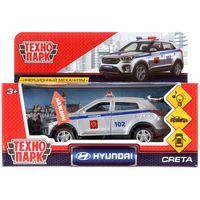 """Модель машины """"Hyundai Creta. Полиция"""" (со световыми и звуковыми эффектами; арт. CRETA-P-SL)"""