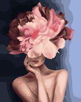 "Картина по номерам ""Мифология женской красоты. Храбрость"" (400х500 мм)"