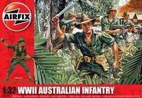 """Набор миниатюр """"WW.II Пехота Австралии"""" (масштаб: 1/32)"""