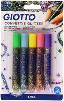 "Клей с блестками ""GLITTER GLUE CONFETTIS"" (5 цветов)"