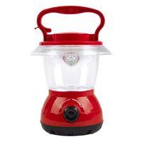 Аккумуляторный кемпинговый фонарь 12 LED (красный)