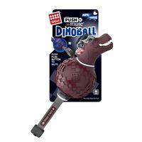 """Игрушка для собак """"Динобол Т-рекс"""" с отключаемой пищалкой (13 см)"""