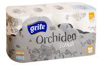 """Туалетная бумага """"White Orchidea"""" (8 рулонов)"""