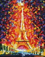 "Алмазная вышивка-мозаика ""Париж. Огни Эйфелевой башни"" (200х250 мм)"