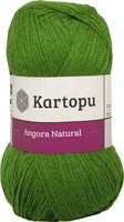 "Пряжа ""KARTOPU. Angora Natural №K1391"" (100 г; 530 м; зеленый)"