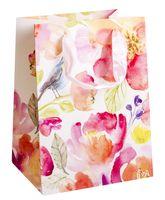 Пакет бумажный подарочный (18х23х10 см)