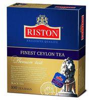 """Чай черный """"Riston. Finest Ceylon"""" (100 пакетиков)"""