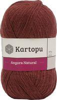 "Пряжа ""KARTOPU. Angora Natural №K1892"" (100 г; 530 м; темный терракот)"