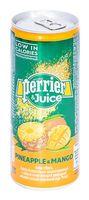 """Вода минеральная """"Perrier. Ананас и манго"""" (250 мл)"""