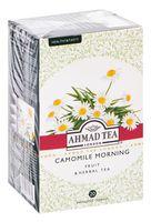 """Фиточай """"Ahmad Tea. Camomile Morning"""" (20 пакетиков)"""