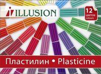 "Пластилин ""Illusion"" (12 цветов)"