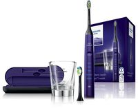 """Электрическая зубная щетка """"Philips Sonicare DiamondClean"""" (фиолетовая)"""