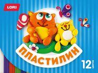 "Пластилин ""Детский"" (12 цветов; арт. Пл-019)"