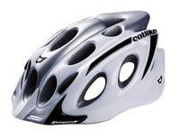 """Шлем велосипедный """"Kompakt'o"""" (L; бело-серый)"""