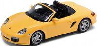 "Модель машины ""Welly. Porsche Boxster S(кабриолет)"" (масштаб: 1/24)"