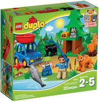 "LEGO Duplo ""Рыбалка в лесу"""