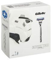"""Подарочный набор """"Gillette Mach3 Turbo"""" (станок, 2 сменные кассеты, гель для бритья)"""