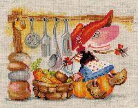 """Вышивка крестом """"Овощная Кладовушка"""""""