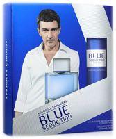 """Подарочный набор """"Blue seduction for Men"""" (туалетная вода, дезодорант)"""