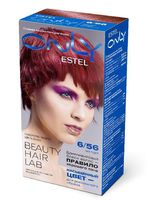 """Гель-краска для волос """"ESTEL ONLY"""" (тон: 6/56, тёмно-русый красно-фиолетовый)"""