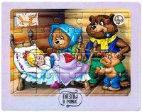 """Пазл-рамка """"Три медведя"""" (20 элементов)"""