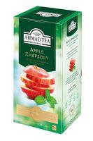 """Чай черный """"Ahmad Tea. С яблоком и мятой"""" (25 пакетиков; саше)"""