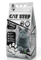 "Наполнитель для кошачьего туалета ""Compact White Carbon"" (5 л)"