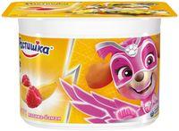 """Йогурт """"Растишка. С малиной и бананом"""" (110 г; 3%)"""