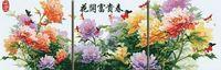"""Картина по номерам """"Пышное цветение"""" (500x1500 мм; арт. MT3014)"""