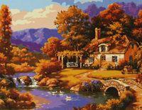 """Картина по номерам """"Романтичный пейзаж"""""""