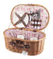 Набор посуды для пикника в корзине (на 2 персоны; арт. HQC-14122)