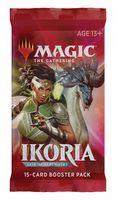 "Бустер ""Magic the Gathering. Ikoria. Lair of Behemoths"" (15 карт)"