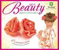 """Изготовление резинок для волос """"Жемчужные розы"""""""