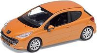 """Модель машины """"Welly. Peugeot 207"""" (масштаб: 1/24)"""