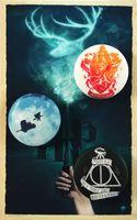 """Набор значков маленьких """"Гарри Поттер"""" (арт. 345)"""