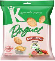 """Сухарики пшеничные """"Baguet. Сырный соус и пицца"""" (45 г)"""