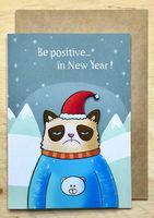 "Открытка ""Be positive..."" (арт. 309)"