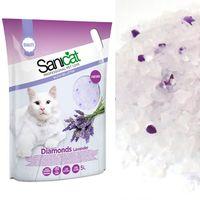 """Наполнитель для кошачьего туалета """"Diamonds Lavender"""" (5 л)"""