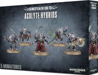 Warhammer 40.000. Genestealer Cults. Acolyte Hybrids (51-51)